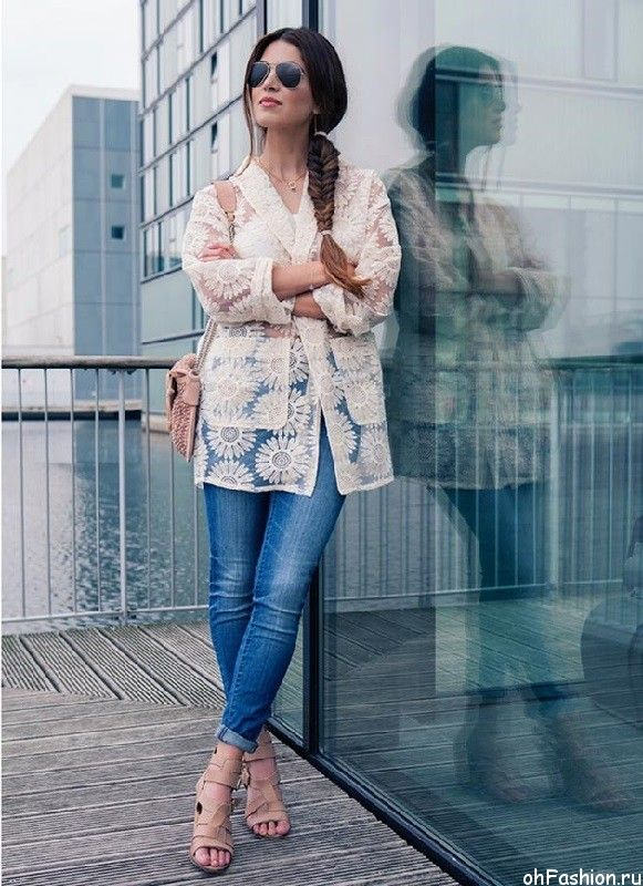 модные джинсы 2015 - джинсы до лодыжки