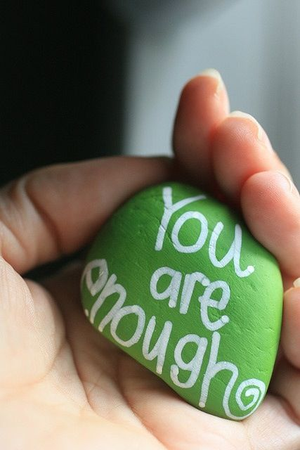 Random Acts of Kindness idea. Paint several of these colorful rocks, write inspirational words and give them as small gifts, or leave them at random places for people to find.