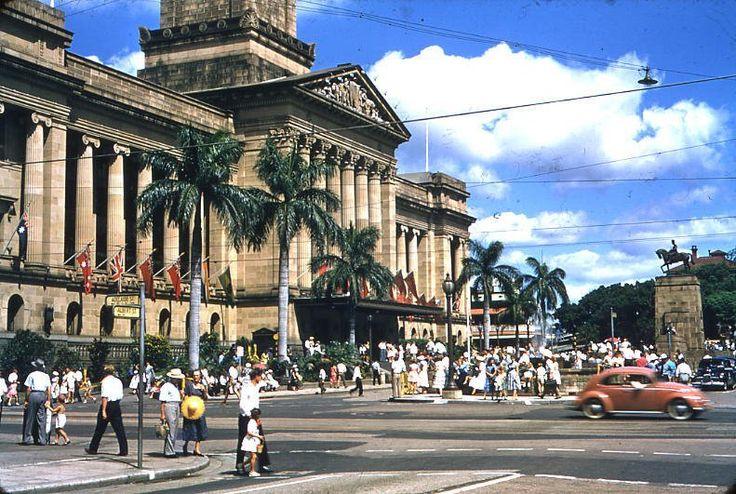 Brisbane City Hall 1971