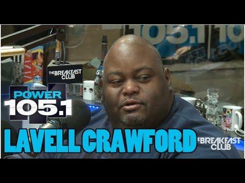 COMEDIAN LAVELL CRAWFORD KICKS IT AT THE BREAKFAST CLUB - POWER 105.1 (F...