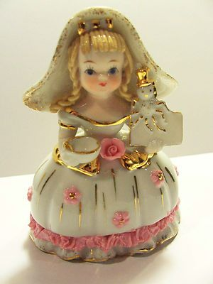 LITTLE MISS MUFFET RARE LEFTON FIGURINE VERY OLD GREAT SHAPE