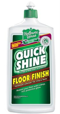"""Best floor finish on the market! After I use my shark to clean, I then give it a shine. """"Protects and shines hardwood, tile, vinyl, marble, linoleum, no-wax,and most hard surface flooring."""" I found it to be the longest wearing shine, even with just one coat..up to six coats can be used. Removes easily with straight Vinegar. Can use it occassioally to bring back shine without having to remove the old w/no sticky build up. No smell, made in the USA, safe to use around kids & pets."""