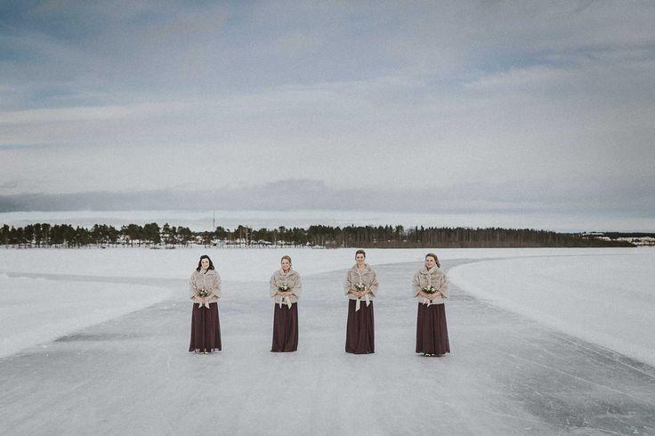 bröllop luleå isen