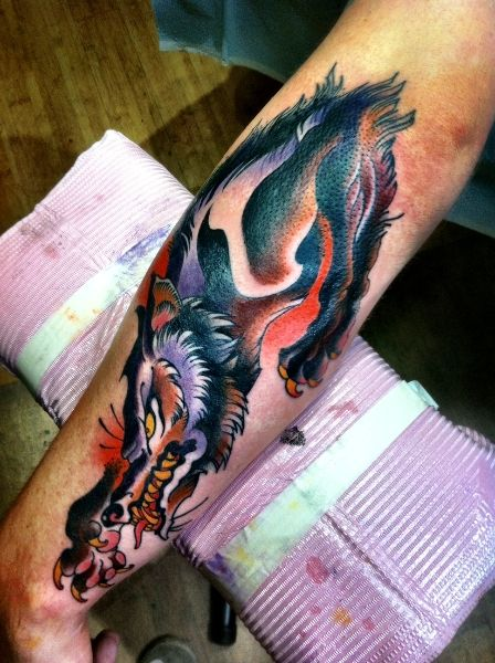 60 best wolf tattoos images on pinterest tattoo ideas for Henry lewis tattoo