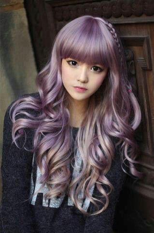 Cool hair color