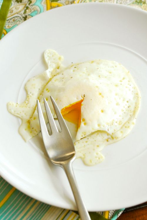 How To Fry An Egg and what do all those egg terms mean anyway? by Lacey Baier, a sweet pea chef