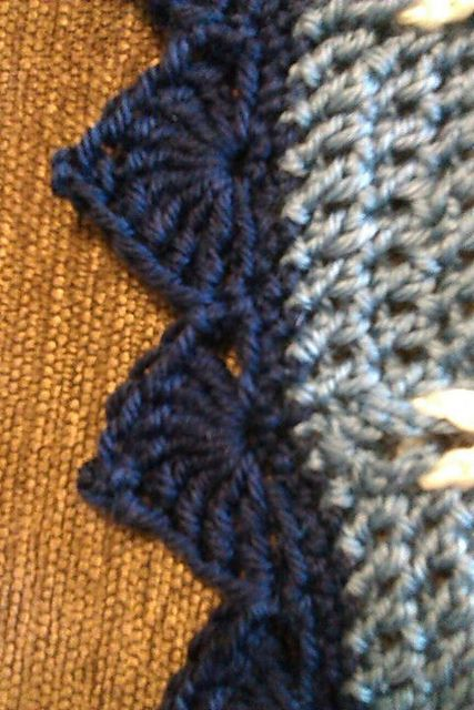Cathedral Edging: free crochet pattern