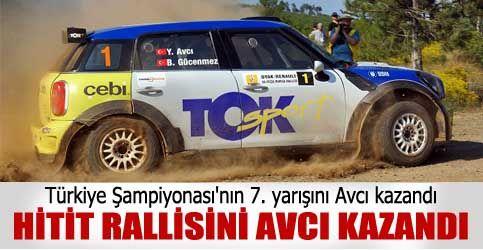 HİTİT RALLİSİNİ AVCI KAZANDI  http://www.cubukpost.com/hitit_rallisini_avci_kazandi_haber3971.html