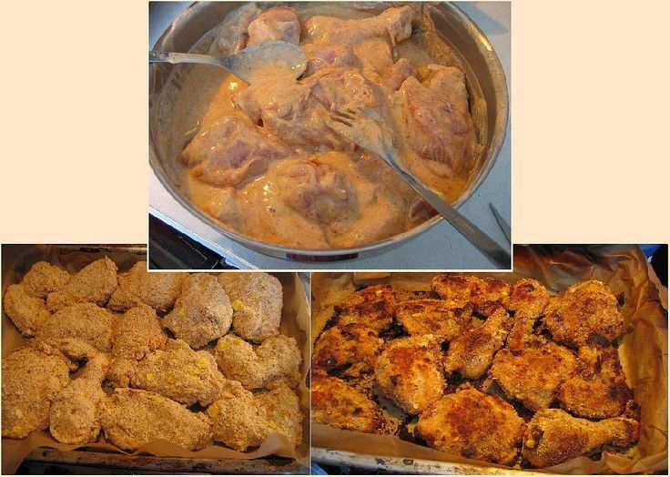 Kuře naporcujeme, vyřezávám páteř (pak ji použiji na polévku) a naložíme do jogurtu, promíchaného s kořením, vejci a solí na 12 hodin (přes...
