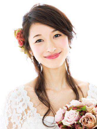 シックな色合いで大人可愛くまとめて♪結婚式の花嫁メイク参考一覧♡真似したいウェディング・ブライダル♡