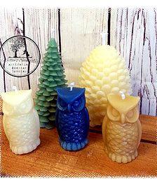 #owl #beeswax #candles #beeswaxcandles #pineconecandles