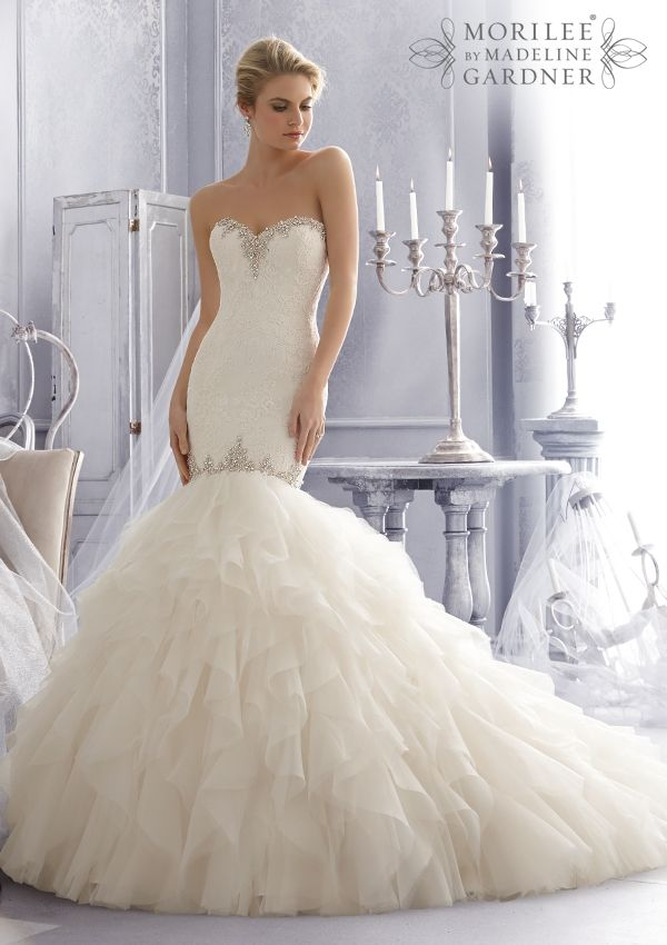 Bridal Gown From Mori Lee By Madeline Gardner Style 2685 At B Loved Boutique