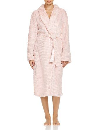 PJ Salvage Waffle Fuzzy Robe | Bloomingdale's