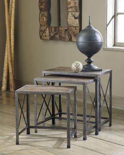 Get Your Rustic Accents   Nesting End Tables (Set Of At Mirab HomeStore And  Furniture Gallery, Belize City Furniture Store.