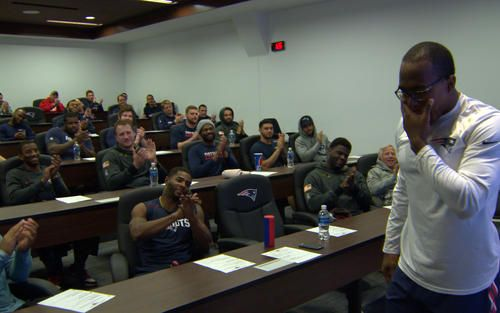 This February, Matthew Slater will be presented with the 2017 Bart Starr Award, and, on this edition of Toyota's Patriots Today, you can see Slater's reaction when he learns that he will be this year's recipient and hear what he has to say about the honor.
