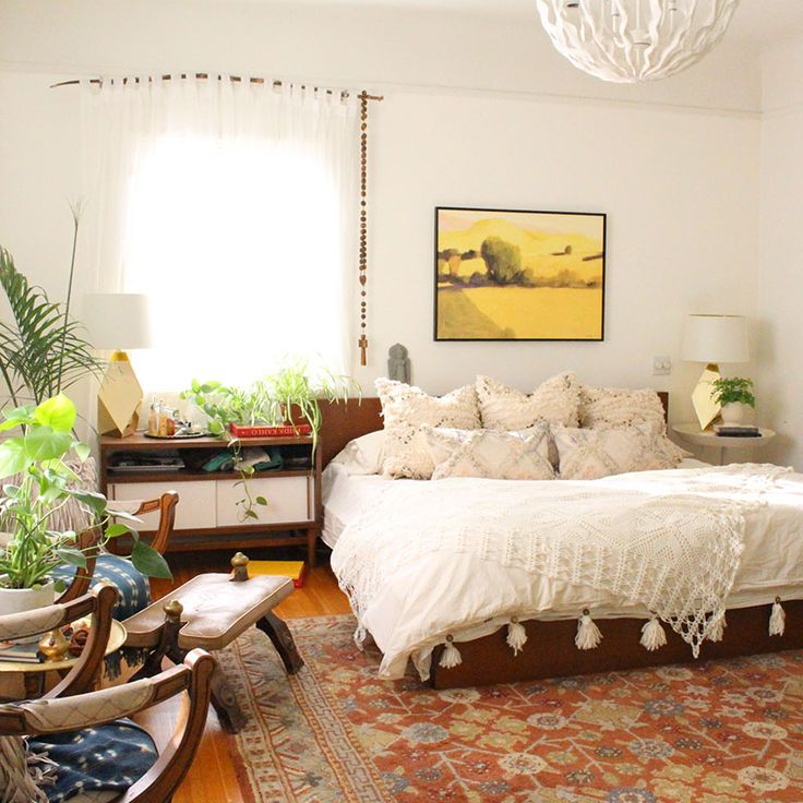 A Beverly Hills Hairstylistu0027s Bohemian Home | Design*Sponge