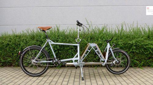 folding cargo bike | Patria-Falt-Lastenrad-2