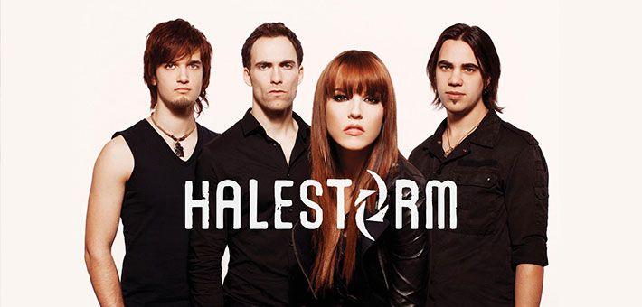 """Halestorm: Μια """"καταιγίδα"""" της hardrock / metal μουσικής σκηνής"""