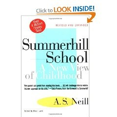 Summerhill, by A.S. Neill. Popular educational theory in the 70's.
