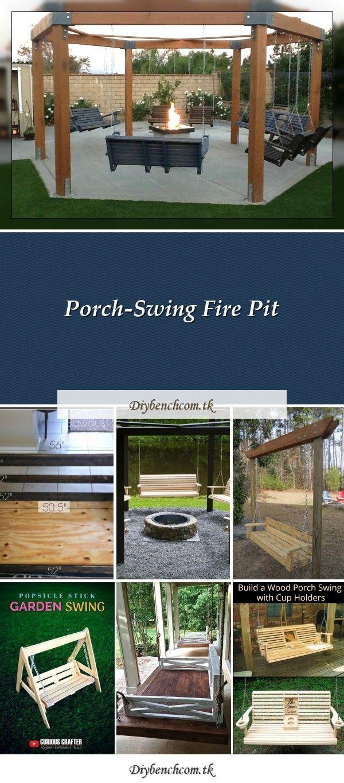 Crib Mattress Porch Swing Sawdust 2 Stitches Crib Mattress Porch Swingfantastic Diy Project Porch Swings Around In 2020 Fire Pit Swings Porch Swing Diy Porch Swing