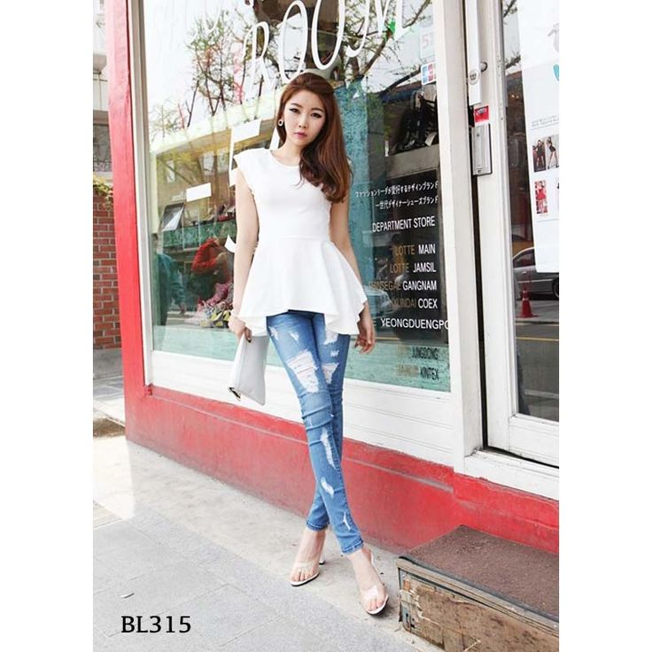 BL315 white2 cotton elastic  - https://www.afwindo.com/shop/pusat-grosir-blouse-murah/bl315-white2-cotton-elastic/