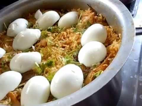Chicken Biryani, Chicken Biryani Recipe, Chicken Biryani Recipe in Telug...