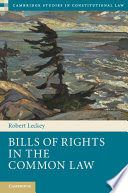 Scholars have addressed at length the 'what' of judicial review under a bill of rights - scrutinizing legislation and striking it down - but neglected the 'how'. Adopting an internal legal perspective, Robert Leckey addresses that gap by reporting on the processes and activities of judges of the highest courts of Canada, South Africa and the United Kingdom as they apply their relatively new bills of rights.
