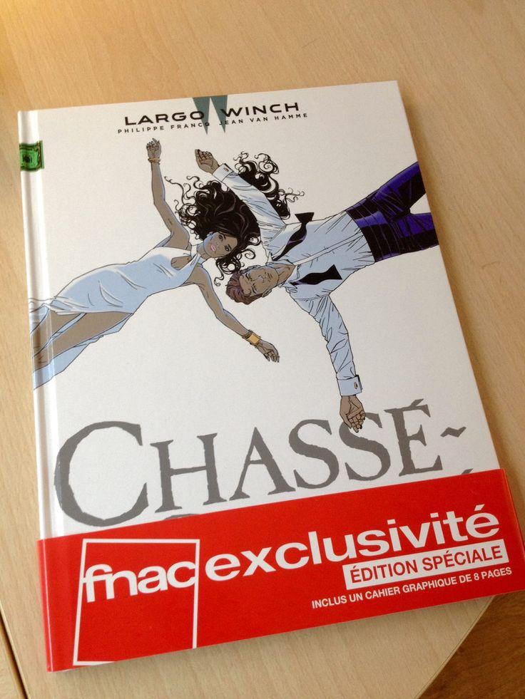 Version exclusive Fnacdu tome 19 de Largo Winch