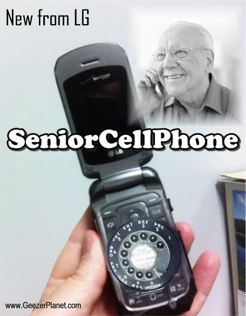 Senior Cell Phone- this is what my mom needs!!