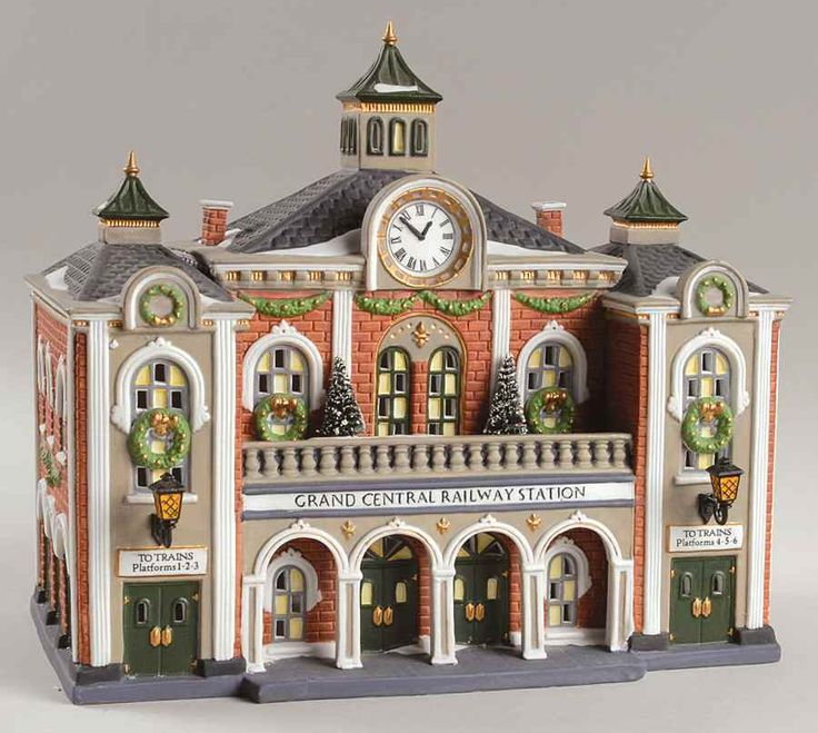 Department 56 CHRISTMAS IN THE CITY Grand Central Railway Station 7379716