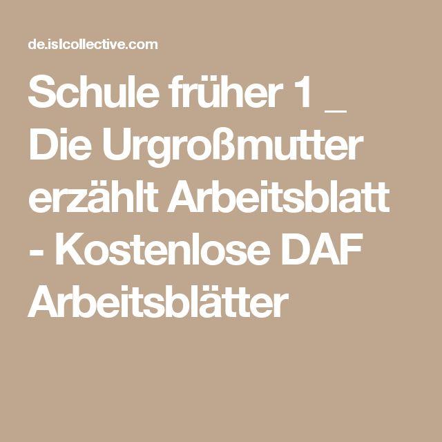 7 best schule fr her und heute images on pinterest deutsch german language and school. Black Bedroom Furniture Sets. Home Design Ideas