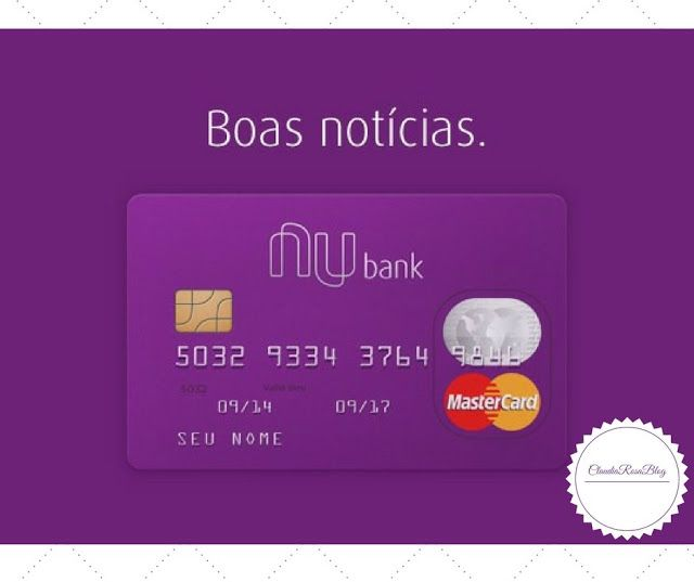 Saiba como eu consegui o meu cartão de crédito Nubank! Nesse artigo conto como eu consegui e o que estou achando do meu Cartão Nubank Mastercard Internacional sem anuidade, o mais querido do Brasil!