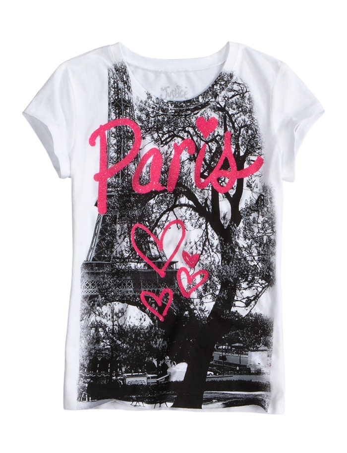 Love Paris Graphic Tee | Peace Love & Justice | Graphic Tees | Shop Justice