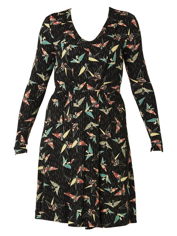 Hearts Flutter Dress by Maiocchi