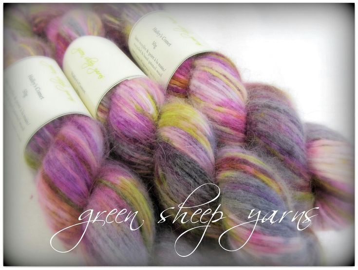 Excited to share the latest addition to my #etsy shop: Hailey's Comet * Wool/ Hand dyed/ Reclaimed yarn/ Recycled yarn (50g/ 151yds) * Laine/ Teint a la main/ Recyclée #supplies #purple #pink #angora #wool #yarn #loveknitting http://etsy.me/2yXnHi0