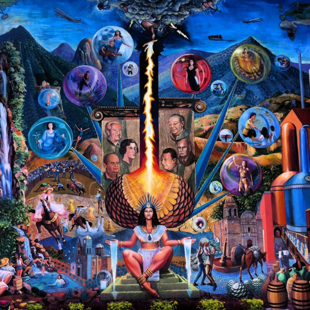 Mayahuel tequila jalisco mural pinterest tequila for El mural jalisco