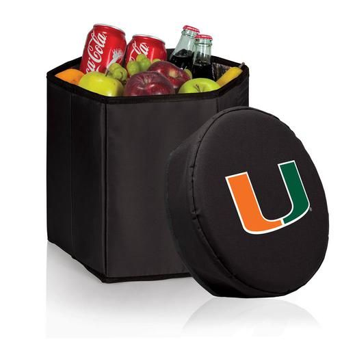 University of Miami Hurricanes Collapsible Cooler Durable 12 Quart Cooler