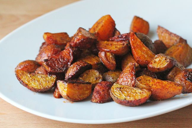 Spicy Roasted Golden Beets - For The Love of Food Blog