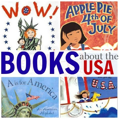 From No Time for Flash Cards:  BOOKS ABOUT THE USA.
