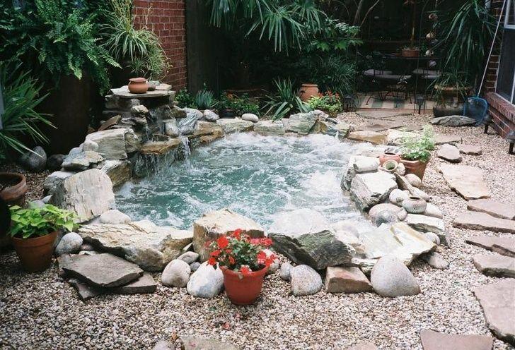 Awesome DIY Garden Hot Tub Designs -- #NextDecks