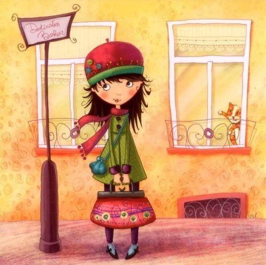 Children's book-- Illustration inspiration.