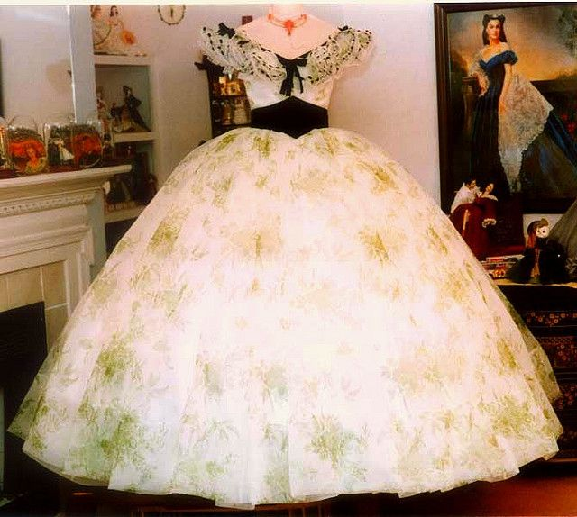 dresses from gone with the wind | BBQ dress gone with the wind costume Scarlett | Flickr - Photo Sharing ...