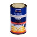 Titan Yate esmalte poliuretano más acrílico es un esmalte sintético con acabado brillante de dos componentes. Posee una dureza extrema resistente al desgaste y resiste a la accion de agentes químicos como grasas, petróleo, gasolina, alcohol, etc. Posee también una buena retención de brillo.
