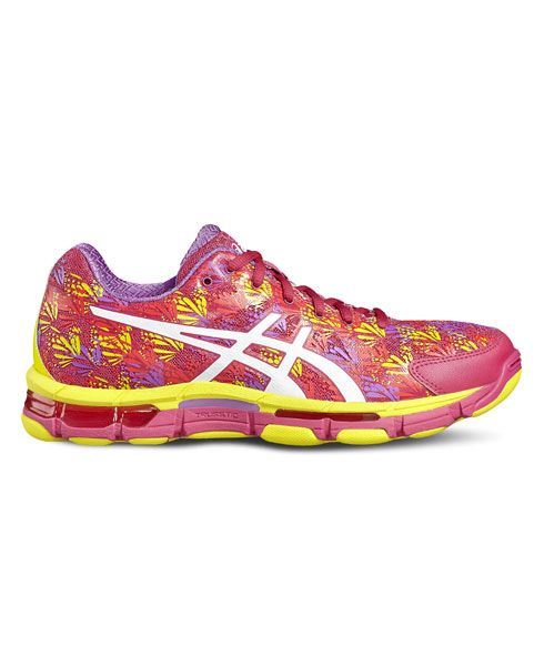 ASICS Gel Professional 13 Pink Netball Trainers