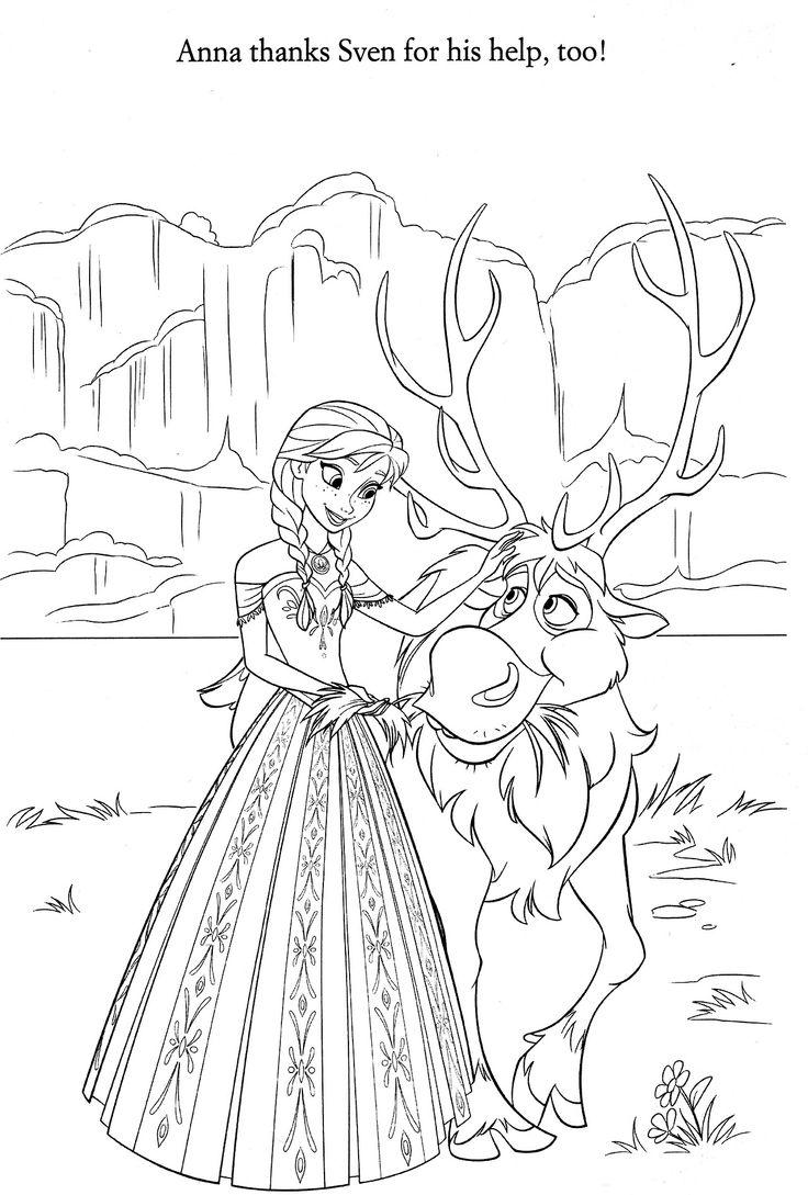 Disney junior frozen coloring pages - Disney Coloring Pages