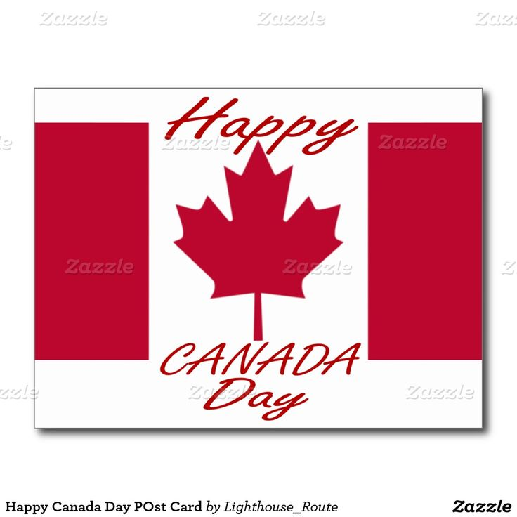 Happy Canada Day POst Card