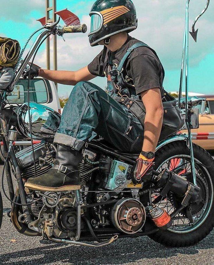 Harley Bobber Chopper #harleydavidsonbobberscustomchoppers