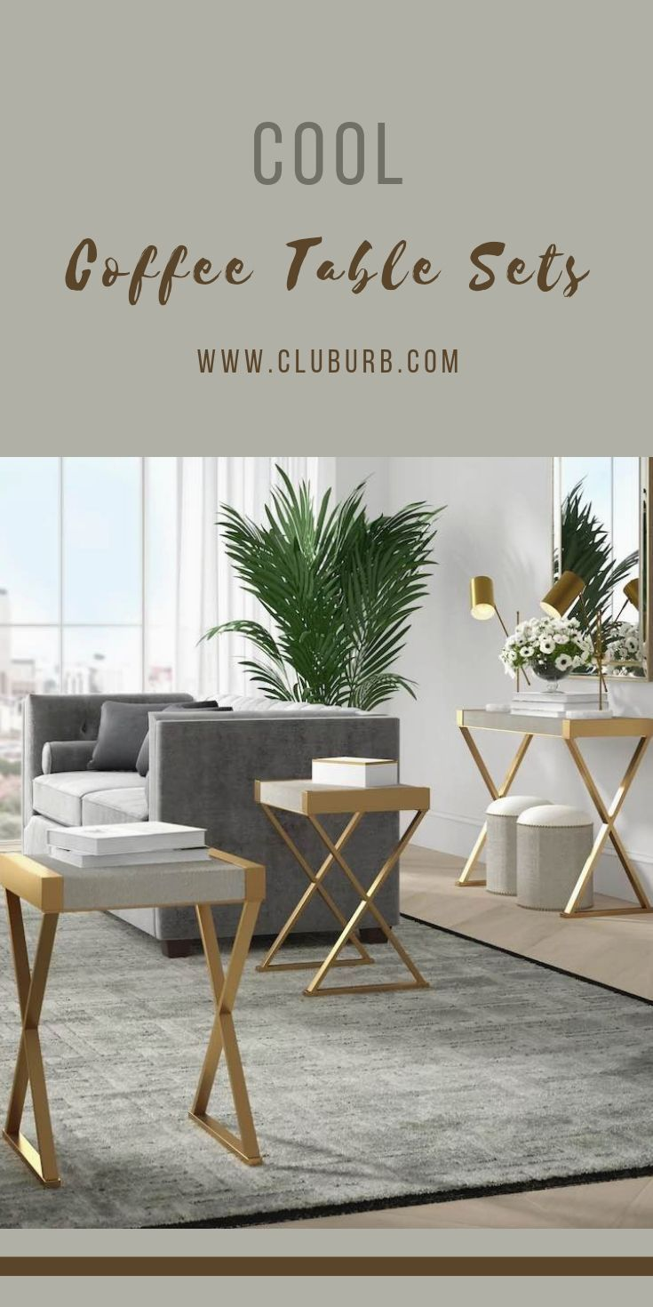 Best Coffee Table Sets 2021 Coffee And End Table Top 10 Cluburb In 2021 Modern Coffee Table Sets Coffee Table Cool Coffee Tables [ 1470 x 735 Pixel ]