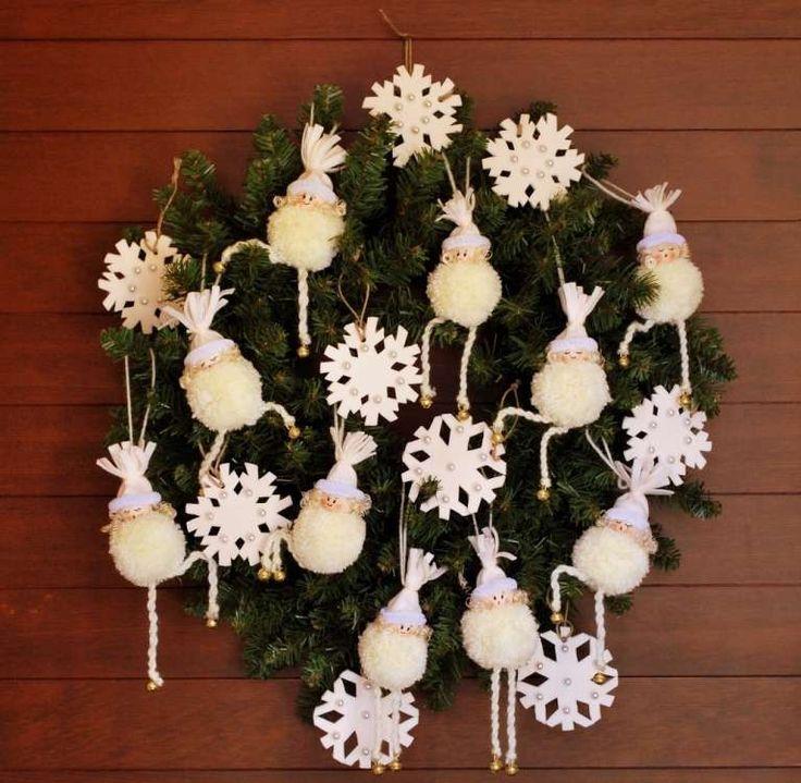 Decorazioni natalizie fai da te (Foto) | Designmag