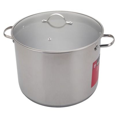 Chefmate Silver 20qt S S Stock Pot Steel Stock Room
